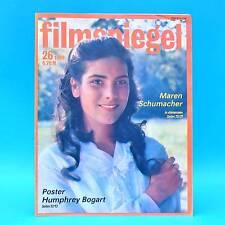DDR Filmspiegel 26/1989 Charlie Sheen Humphrey Bogart Maria Andergast M. Krug J