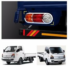 Rear Chrome Tail Light Lamp Trim Cover Molding For Hyundai H100