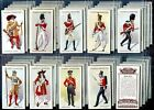 Tobacco Card Set, John Player, REGIMENTAL UNIFORMS, 2nd Series, 1650 - 1915