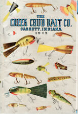 CREEK CHUB BAIT CO. – 1942 DATED FULL SIZE CATALOG