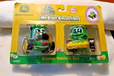 Brand New JOHN DEERE My First Collectible Diecast Tractors Learning Curve 3+