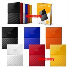 WD Western Digital 1TB My Passport USB 3.0 / 2.0 Portable External Harddisk New