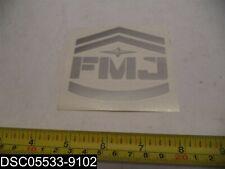 "Qty= 100: Easton Full Metal Jacket Car Decal/Sticker/Vinyl, 3-3/4"" X 3-1/2"""