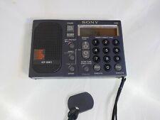 SONY ICF-SW1 E Weltempfänger / alle 6 Kondensatoren + LED + GoldCap neu - TOP