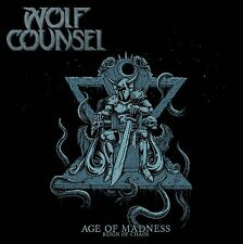 WOLF COUNSEL - AGE OF MADNESS/REIGN OF CHAOS   CD NEW+