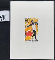 Ivory Coast #411 EPL Proof Olympics [YT406]