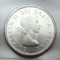 1964 Canada 25 Twenty Five Cents Quarter Canadian Graded ICCS XNI 232 Coin D075