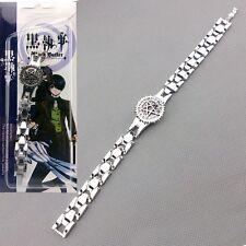 Anime Black Butler kuroshitsuji Rotary Ciel Contract Metal Bracelet Cosplay
