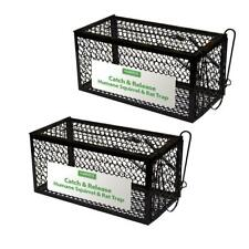 Catch and Release Humane Squirrel Control and Rodent Cage Trap 1 - 2 Pack New