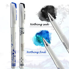 Blue And White Porcelain Style Gel Pen office School Supply Black and blue Ink