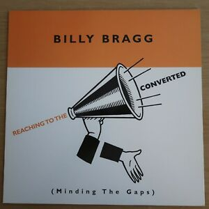 BILLY BRAGG - REACHING TO THE CONVERTED (1999, UK, COOKING VINYL LP, NEAR MINT)