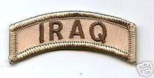 WAR ON TERRORISM OIF OEF ODA DESERT DERBY IRAQ TAB Location TDY PATCH