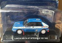 "DIE CAST "" LANCIA DELTA HF INTEGRALE 16V - 1992 "" POLIZIA SCALA 1/43"