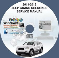 Jeep Grand Cherokee 2011 2012 2013 Factory Workshop Service Repair Manual