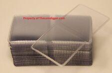 500 Coin Holder Flip 2x2 Double Pocket Vinyl 7mil Thick Guardhouse Storage Flips