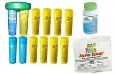 Spa Frog Kit 12 pack-9 Bromine & 3 Mineral Test Strips Jump Start PRIORITY MAIL