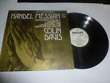 Handel-Mesías (Highlights) - Colin Davis-Reino Unido Philips Vinilo Lp