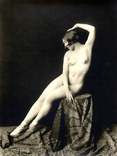 A4 VINTAGE 1920's Art Deco Pretty Nude Girls.. Vittoriano / Edwardian bellezze 205