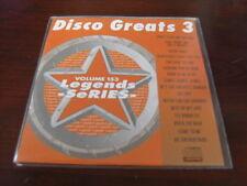 LEGENDS KARAOKE CD+G VOL 153 DISCO GREATS vol 3 France Joli Chic Foxy Emotions