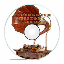 The History of the Phonograph Films, Vinyl Records, Wurlitzer Films on DVD -J42
