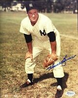 Hank Bauer Yankees Signed Jsa Cert Sticker 8x10 Photo Autograph Authentic
