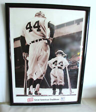 "50th Anniv Little League 1989 Framed 24"" Poster Oscar Mayer Advertising FREE SH"