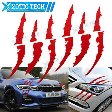 2 Pcs Pre-Cut Monster Claw Scratch Decal Reflective Stickers Set For BMW F30 F31
