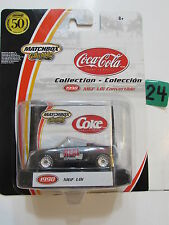 MATCHBOX COLLECTIBLES COCA COLA COLLECTION 1998 MGF 1.8I