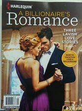 Harlequin A Billionaire's Romance Three Lavish Love Stories FREE SHIPPING sb