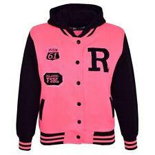 Manteaux, vestes et tenues de neige rose avec capuche pour fille de 5 à 6 ans
