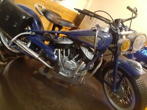 1948 Indian Chief (1:6)  Blue Model, by New-Ray Toys 1998
