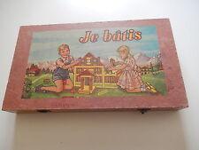 Ancienne boite jeu de construction