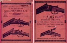 Louis Vendrix (Liege) 1936 Gun Catalog