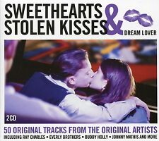SWEETHEARTS & STOLEN KISSES DREAM LOVER - 2 CD BOX SET - OH CAROL & MANY MORE