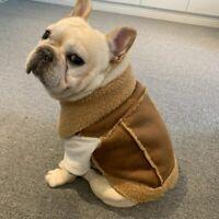 French Bulldog Clothes Winter Frenchie Dog Coat Jacket Pug Clothing Schnauzer