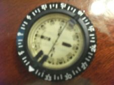SWISS MADE SCUBA COMPASS in EXCELLENT CONDITION MECHANICALLY With 1/4 bubble.
