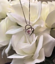STERLING SILVER HEART NECKLACE FOR MOM/SISTER/AUNT/WIFE/PARTNER/FRIEND/NEICE