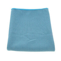 Outdoor Cooling Towel Instant Sweat Relief Hot Summer Sports Towel Gym Blue