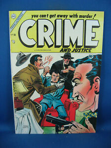 CRIME AND JUSTICE 20 F VF CHARLTON 1954