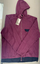Rapha Explorer Technical Hoodie Plum Size XLarge Brand New With Tag
