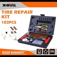 X-Bull 102pc Tire Repair Kit Diy Flat For Car Truck Motorcycle Home Plug Patch