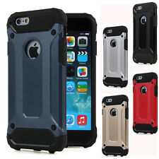 Funda hibrida anti-golpes para IPHONE 5 5s SE 6 6s y 6 6s plus protector CALIDAD