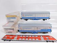 CS365-0,5# 2x Fleischmann H0/DC Schiebewandwagen DB NEM: 5370 K + 5809 K TOP+OVP