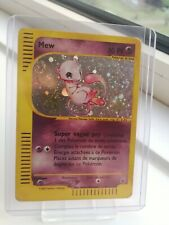 MEW FRENCH POKEMON CARD HOLO RARE EXPEDITION 19/165 MP/LP