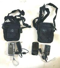 GE Shock & Waterproof DV1 Digital HD Video Camera 1080P Adapter & Case Lot of 2