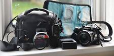 Jeu Panasonic Lumix DMC-FZ200, 6 filtres, contrôle à distance, Lens Hood, sac, chargeur...