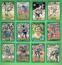 #D435.  1978  PARRAMATTA EELS SCANLENS RUGBY LEAGUE CARDS,  ALL 12 CARDS