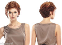 Short Light Weight Gaby By Jon Renau Straight Blonde Brunette Red Grey Wigs