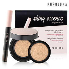 PUROLUNA Shiny Essence CC cushion + Concealer 50+/PA+++ Program Gift Set