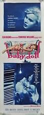 BABY DOLL Movie POSTER 14x36 Insert Eli Wallach Carroll Baker Karl Malden